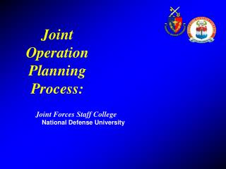Joint Operation Planning Process: