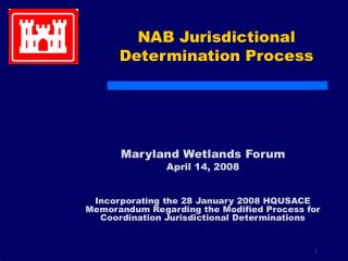 NAB Jurisdictional Determination Process