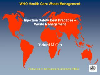 WHO Health Care Waste Management
