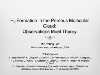 H 2  Formation in the Perseus Molecular Cloud: Observations Meet Theory