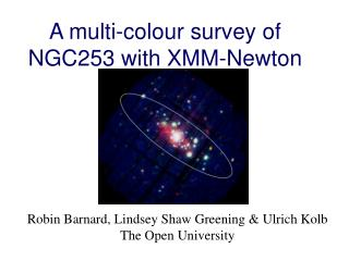 A multi-colour survey of NGC253 with XMM-Newton