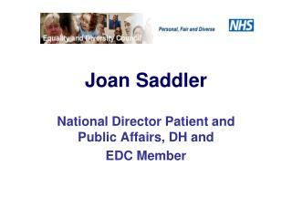 Joan Saddler