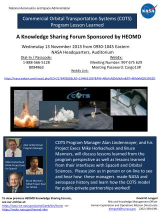 To view previous HEOMD Knowledge Sharing Forums,  see  our archive at :