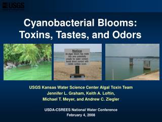 Cyanobacterial Blooms: Toxins, Tastes, and Odors