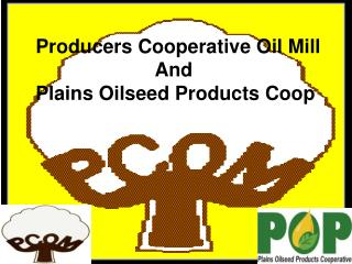 Producers Cooperative Oil Mill                       And Plains Oilseed Products Coop