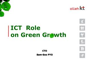 ICT  Role  on Green Gr  wth