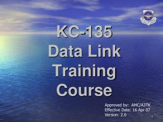 KC-135  Data Link Training Course