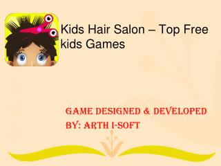 Kids Hair Salon -  Free kids Game