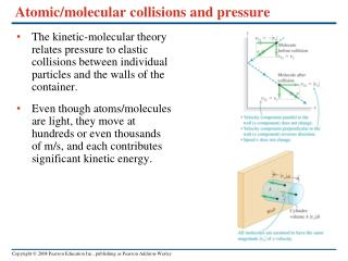Atomic/molecular collisions and pressure