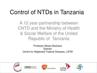 Control of NTDs in Tanzania