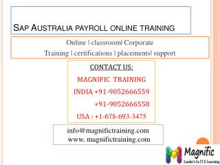 sap australia payroll online training in sweden,denmark