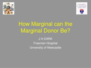 How Marginal can the Marginal Donor Be?