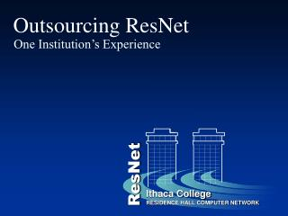 Outsourcing ResNet