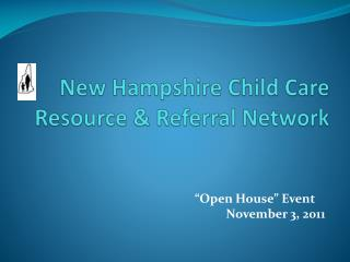 New Hampshire Child Care Resource & Referral Network