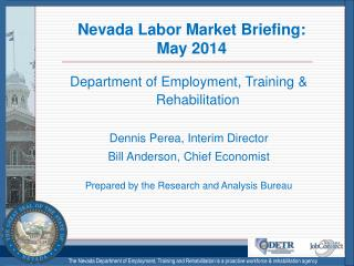 Nevada Labor Market Briefing: May 2014