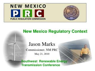 New Mexico Regulatory Context