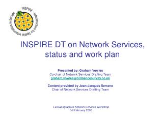 INSPIRE DT on Network Services, status and work plan