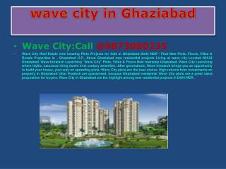 wave city [135(Sq.yd)] Plot| 9873080235|wave city ghaziabad