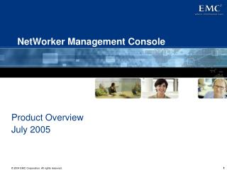 NetWorker Management Console