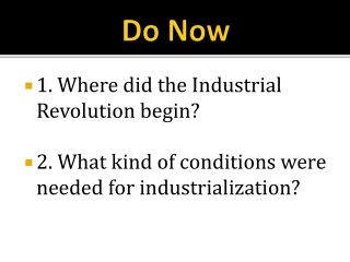 Rise of Industry-1865-1900