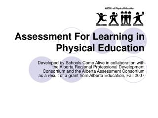 Assessment For Learning in Physical Education