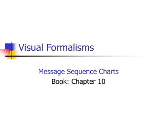 Visual Formalisms