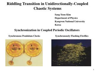 Riddling Transition in Unidirectionally-Coupled Chaotic Systems