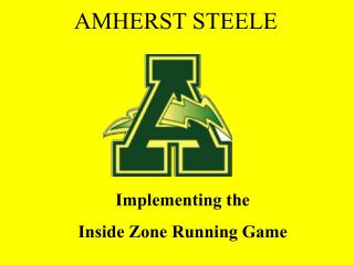 Implementing the  Inside Zone Running Game