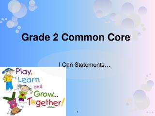 Grade 2 Common Core