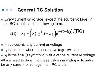 General RC Solution