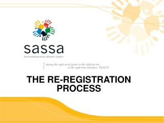 THE RE-REGISTRATION PROCESS