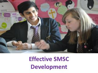 Effective SMSC  Development