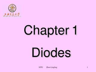 Chapter	1 Diodes