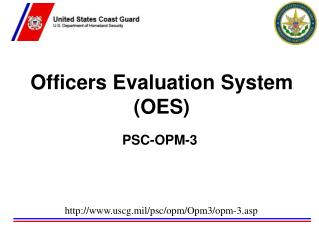 Officers Evaluation System (OES)