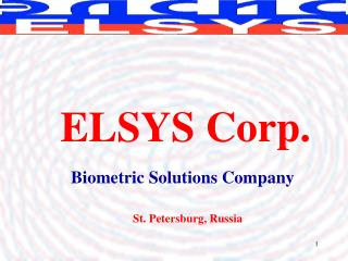 Biometric Solutions Company