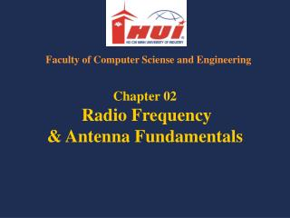 Chapter 02 Radio Frequency & Antenna Fundamentals