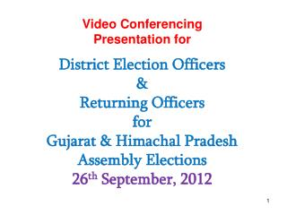 Video Conferencing Presentation for