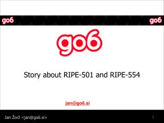 Story about RIPE-501 and RIPE-554