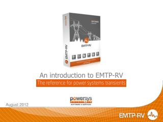 An introduction to EMTP-RV