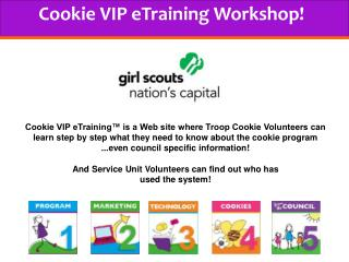 Cookie VIP eTraining Workshop!