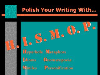 Polish Your Writing With…