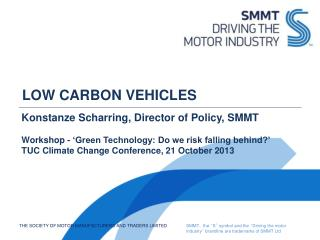 LOW CARBON VEHICLES