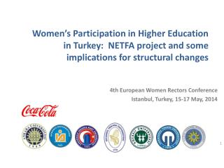 4th  European Women Rectors  Conference Istanbul, Turkey, 15-17 May, 2014