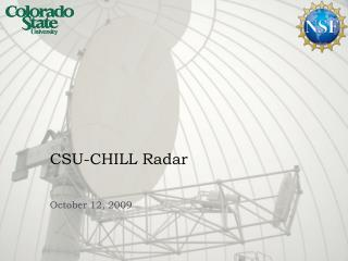 CSU-CHILL Radar