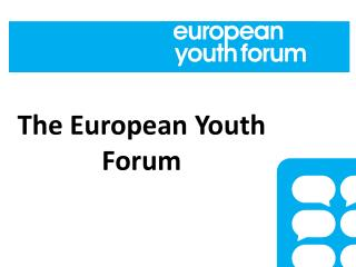 The European Youth Forum