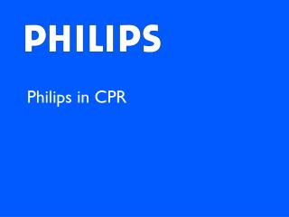 Philips in CPR