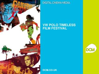 VW POLO TIMELESS FILM FESTIVAL
