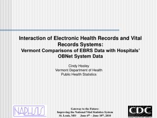 Interaction of Electronic Health Records and Vital Records Systems: