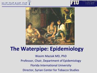 The Waterpipe: Epidemiology