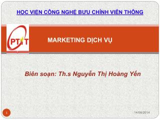 MARKETING DỊCH VỤ